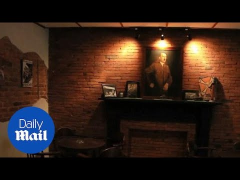 Take a look inside the Nazi-themed cafe in Indonesia - Daily Mail