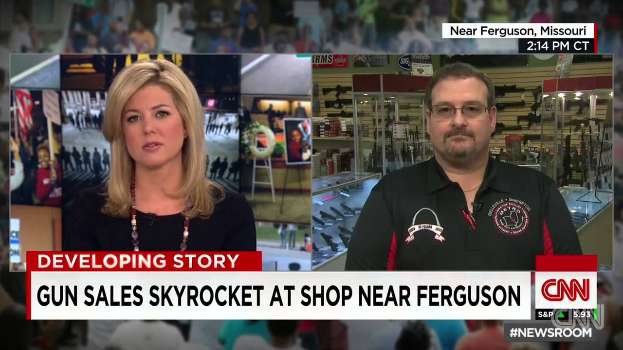 St Louis Ferguson Gun Sales Skyrocket Youtube