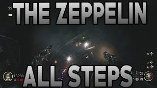 Call of Duty WW2 The Final Reich: The Zeppelin FULL GUIDE (Right Hand of God Step)