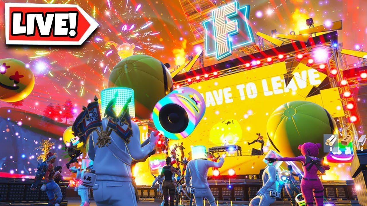 FULL MARSHMELLO FORTNITE EVENT! Live Fortnite Marshmello ...