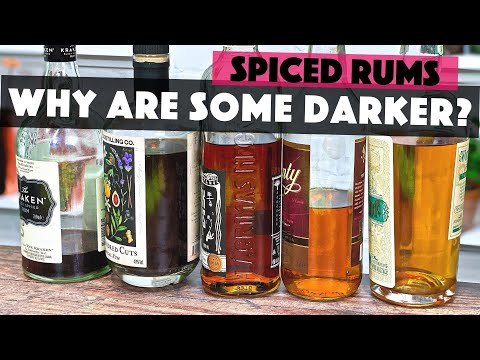 What's The Difference Between Dark Rum & Light Spiced Rum?