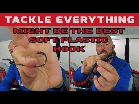 Longer Shank, Bigger Gap The Mustad Grip Pin Big Bite Soft Plastic Hook