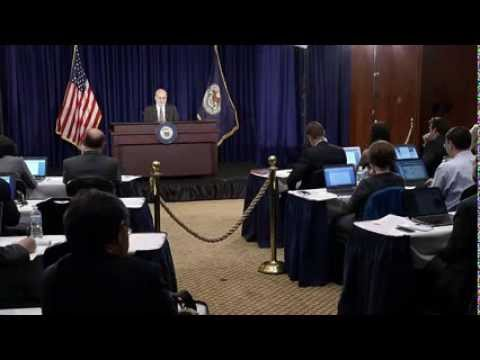 Press Conference with Chairman of the FOMC, Ben S. Bernanke