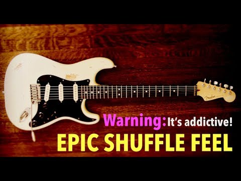 Blues Shuffle Backing Jam Track // B Minor