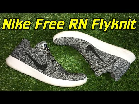 reputable site ced7b 24f40 Nike Free RN Flyknit 2016 - Review + On Feet - YouTube