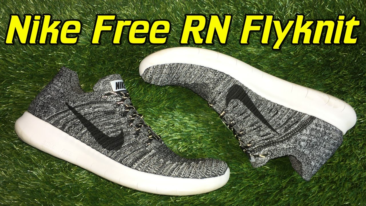 350843e0c55 Nike Free RN Flyknit 2016 - Review + On Feet - YouTube
