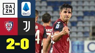 Cagliari stürzt den Meister: Cagliari Calcio - Juventus Turin 2:0 | Serie A | DAZN Highlights