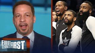 Nets could face power struggle w Harden; Lakers will take NBA Title - Broussard | FIRST THINGS FIRST