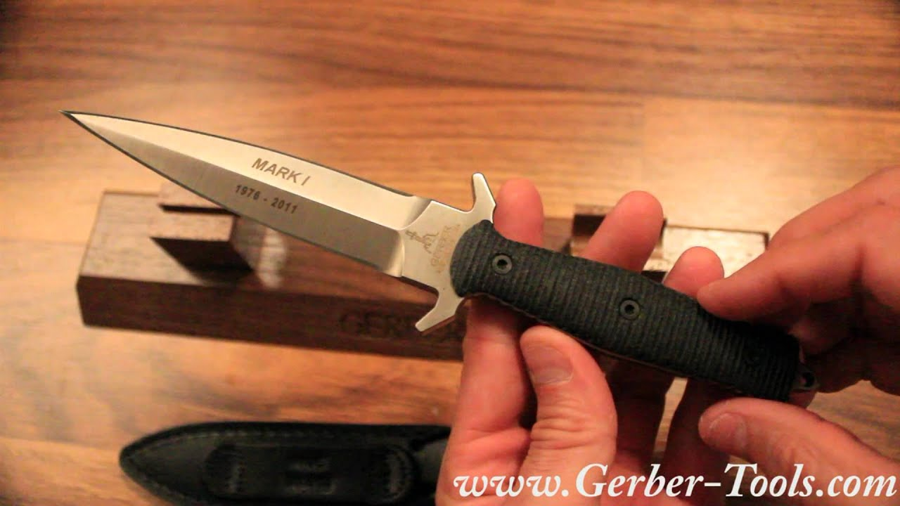 Gerber Mark I 35th Anniversary Limited Edition 30-000412 - Video ...
