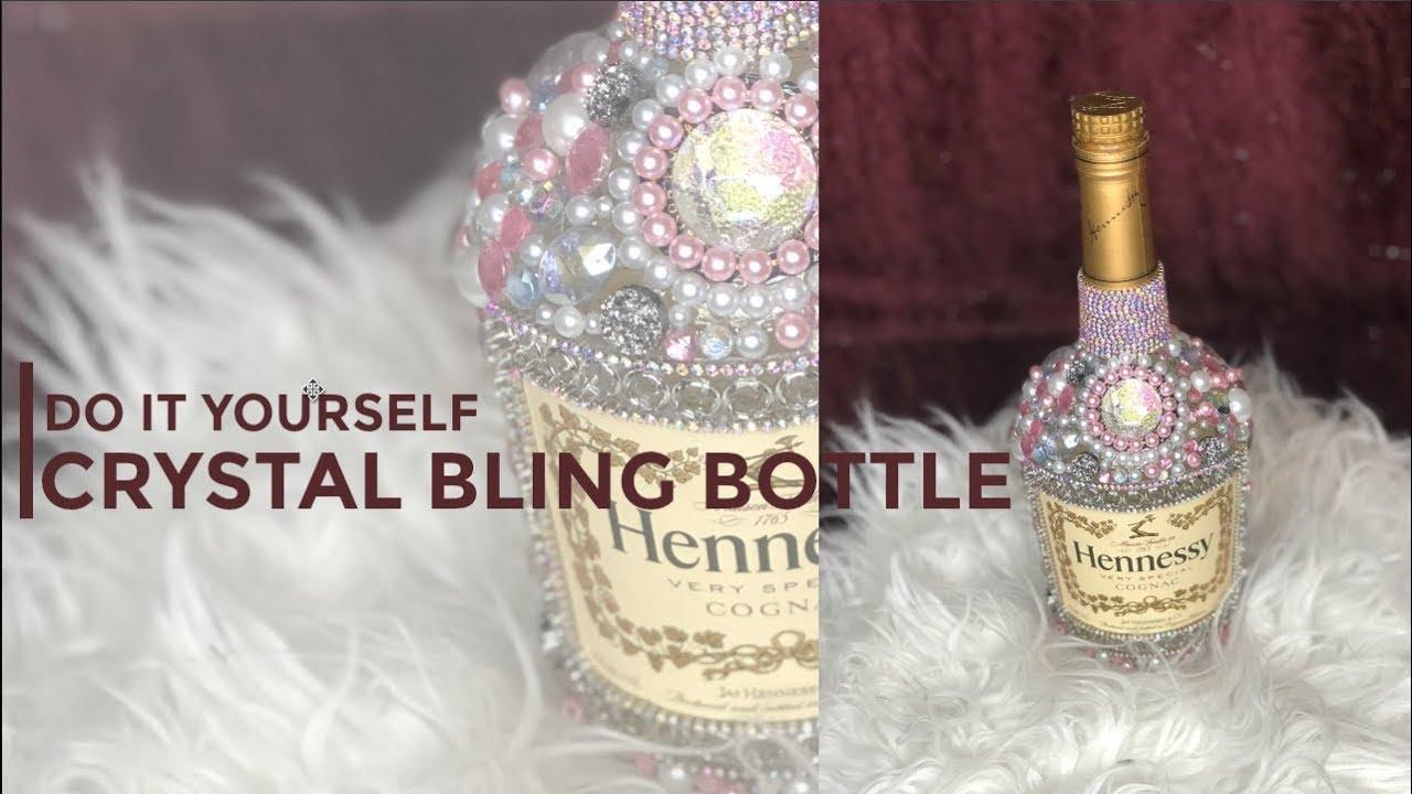 878c3d9f3152 DIY Crystal Bling Bottle - YouTube