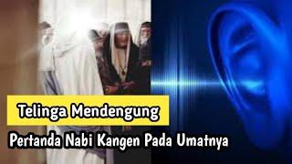 Telinga Mendengung Pertanda Nabi SAW Sedang Kangen dengan Umatnya?