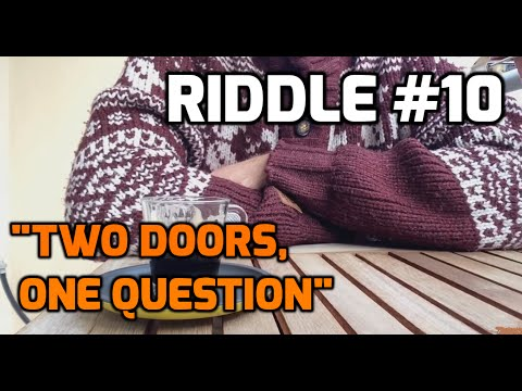 two doors one question