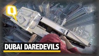 Dubai Daredevils: Three Friends Freestyle Climb a 1,000 Feet Tower in Dubai