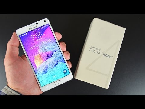Samsung Galaxy Note 4: Unboxing & Review