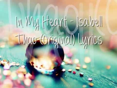 In My Heart - Isabell Thao (Original) Studio Version Lyrics