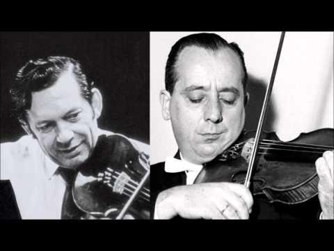 W.A.Mozart Sinfonia Concertante In E Flat K 364 For Violin & Viola, Grumiaux, Pelliccia
