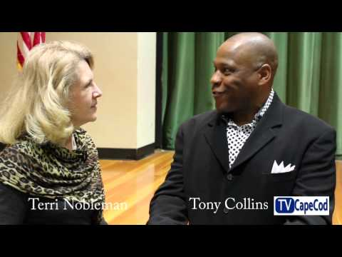 TVCapeCod interview with New England Patriot Tony Collins