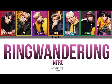 BTS (防弾少年団) - 'INTRO: Ringwanderung' (Kang|Rom|Esp) (COLOR CODED)