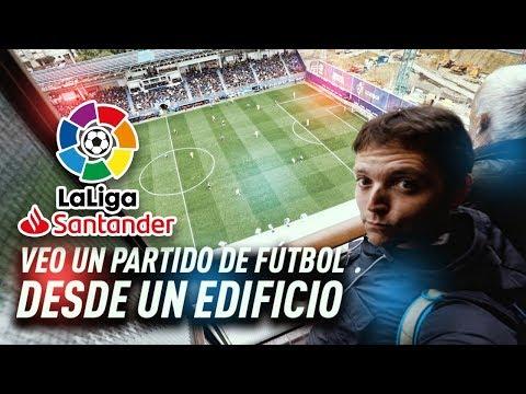 ¡¡VEO UN PARTIDO DE  MESSI DESDE UN EDIFICIO!! Eibar Barça   Vlog 148