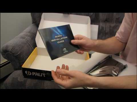 Palit GeForce GTX 260 Sonic 896MB DirectX 10 Video Card Unboxing & First Look Linus Tech Tips