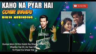 Kaho Na Pyar Haai Cover By Ridho Official Syahdunya Suara Pria Ini