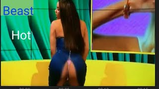 Best Hot & Funny movement in Live TV show