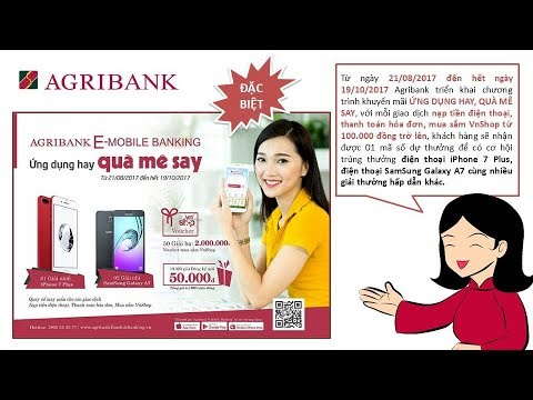 ỨNG DỤNG AGRIBANK E-MOBILE BANKING