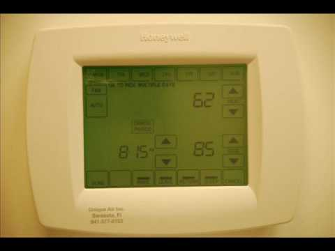 hqdefault tutorial honeywell visionpro 8000 youtube honeywell visionpro iaq wiring diagram at panicattacktreatment.co