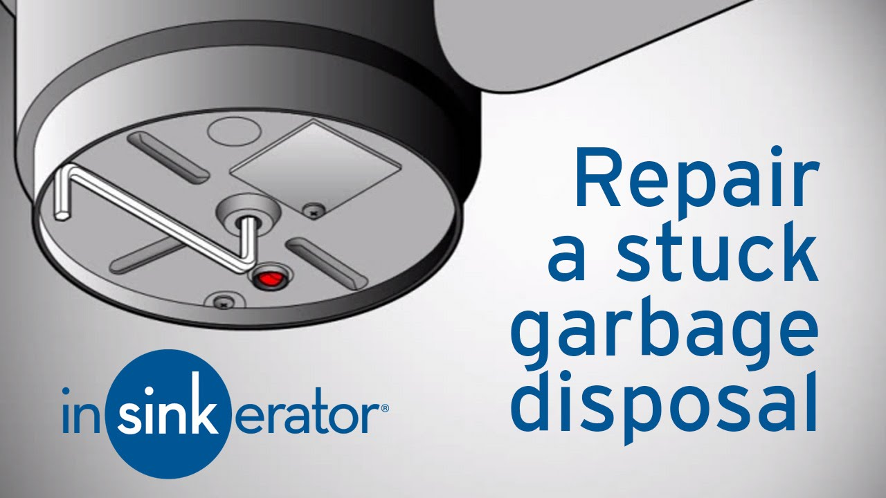 Garbage Disposal Repair | How To Fix A Garbage Disposal   InSinkErator    YouTube