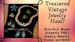 Nina ricci vintage jewelry