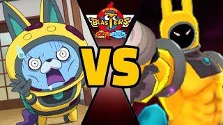 USAPYON vs ULTRA CAPTAIN THUNDER in Yo-kai Watch Blasters (Theme Team)