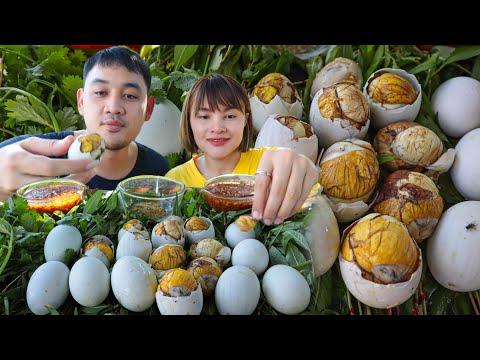 กินไข่ลูกเป็ด ไข่ฮ้างฮัง ของขึ้นชื่อเวียดนามซดน้ำจิ้มข่าแซ่บๆ พริกไทยเกลือกับผักแพว  ตั้มมี่Channel