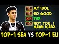 TOP-1 SEA vs TOP-1 EU — Abed vs rising star Penta.Nine