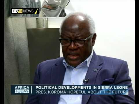 Africa Today| Political development in Sierra Leone | Dr. Ernest Bai Koroma| Mike Okwoche