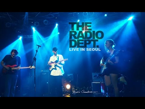 The Radio Dept. - Committed (NEW UNRELEASED) [live in Seoul] 2016.06.27