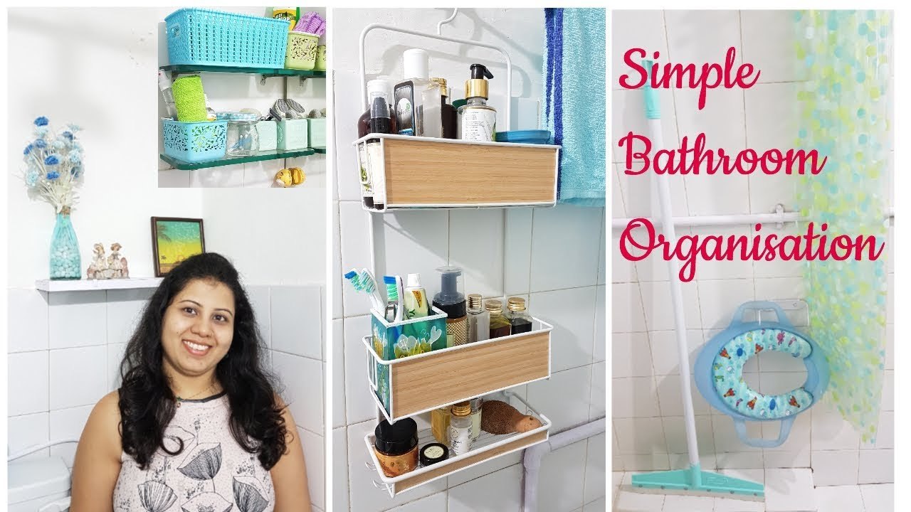 Small Bathroom Organization | Indian Bathroom Storage ...