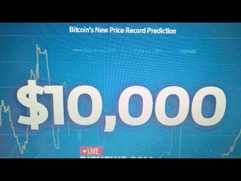 Bitcoin Breaks 10000 USD