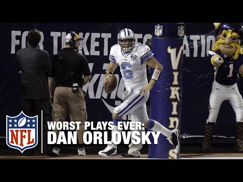 Dan Orlovsky Cooks Up a Safety Scramble! | NFL