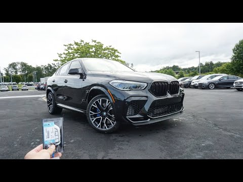 Driving the 2021 BMW X6 M Competition! It\'s a Super SUV!