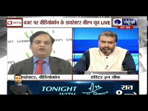 India News Exclusive interview with Venugopal Dhoot