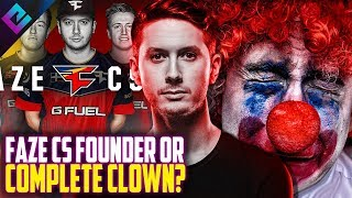 Maikelele Says he Founded FaZe, Olofmeister Calls Him Clown