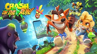 Crash Bandicoot On The Run Official Reveal Trailer 2020 HD