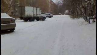 Pilotage GP Mini-truggy 1:16. Winter race. Snow. (Зима. Снег)
