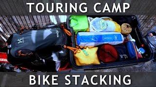 キャンプツーリングのスタッキング例 Stacking CAMP Touring