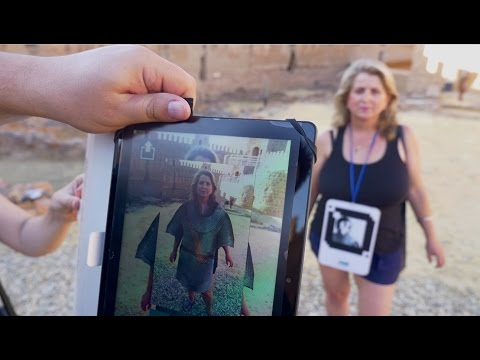 AS Augmented reality to travel back in time in the Burgalimar Castle