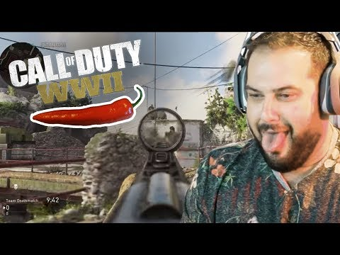 Thumbnail: Call of Duty WW2 Beta • HOT PEPPER CHALLENGE