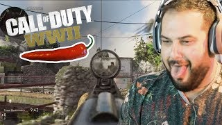 Call of Duty WW2 • HOT PEPPER CHALLENGE