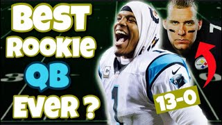 Who's the greatest ROOKIE QB of all-time?