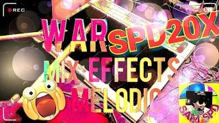 Spd 20x war effects mix melodic