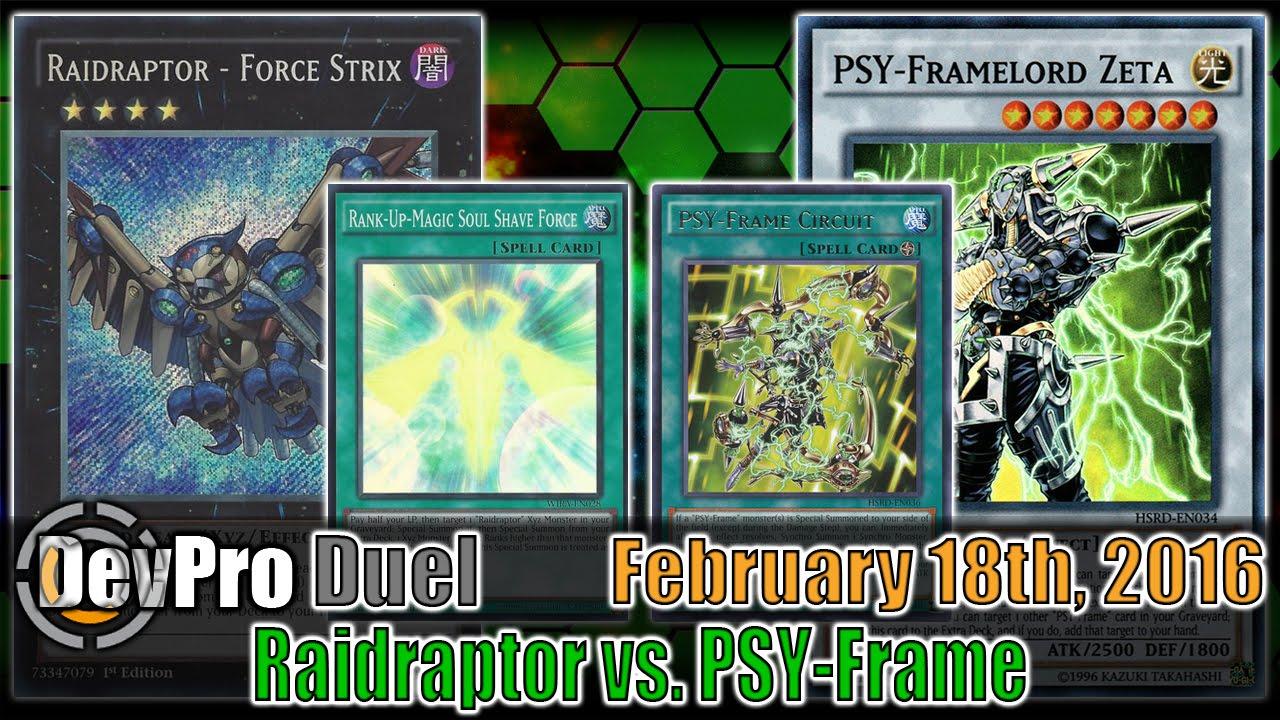 Raidraptor vs. PSY-Frame - DevPro Duel (Ranked) February 18th, 2016 ...